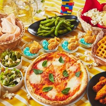 【カジュアルタパスコース】個室2.5時間《料理8品11種》みんなで手軽につまめるスナック中心