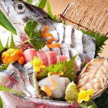 旬の活魚と美味しい料理とお酒