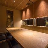 【2階】スタイリッシュな和空間。掘りごたつ席完全個室(~4名様×4部屋)