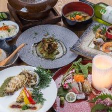 熊本食材で織り成す創作料理を堪能