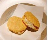 チーズのマカロン