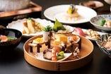 [厳選食材と職人の技] 里仙ならではの美味をお愉しみください