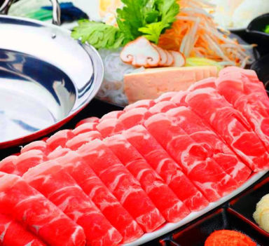 しゃぶしゃぶと和食 彩食健美 くり田  こだわりの画像