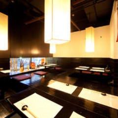 しゃぶしゃぶと和食 彩食健美 くり田  店内の画像
