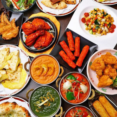 Asian bistoro 食べ放題 トップスパイス高田馬場店 コースの画像