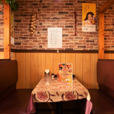 Asian bistoro 食べ放題 トップスパイス高田馬場店 店内の画像