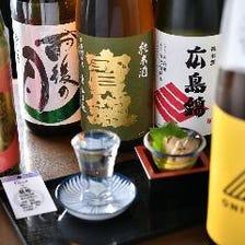 「日本のお酒」にこだわる。