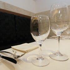 豊富なイタリアワインを約100種