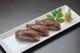 信州牛の炙り寿司です。地元食材を使ったお料理が人気です!