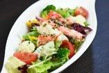 タラバ蟹のサラダ