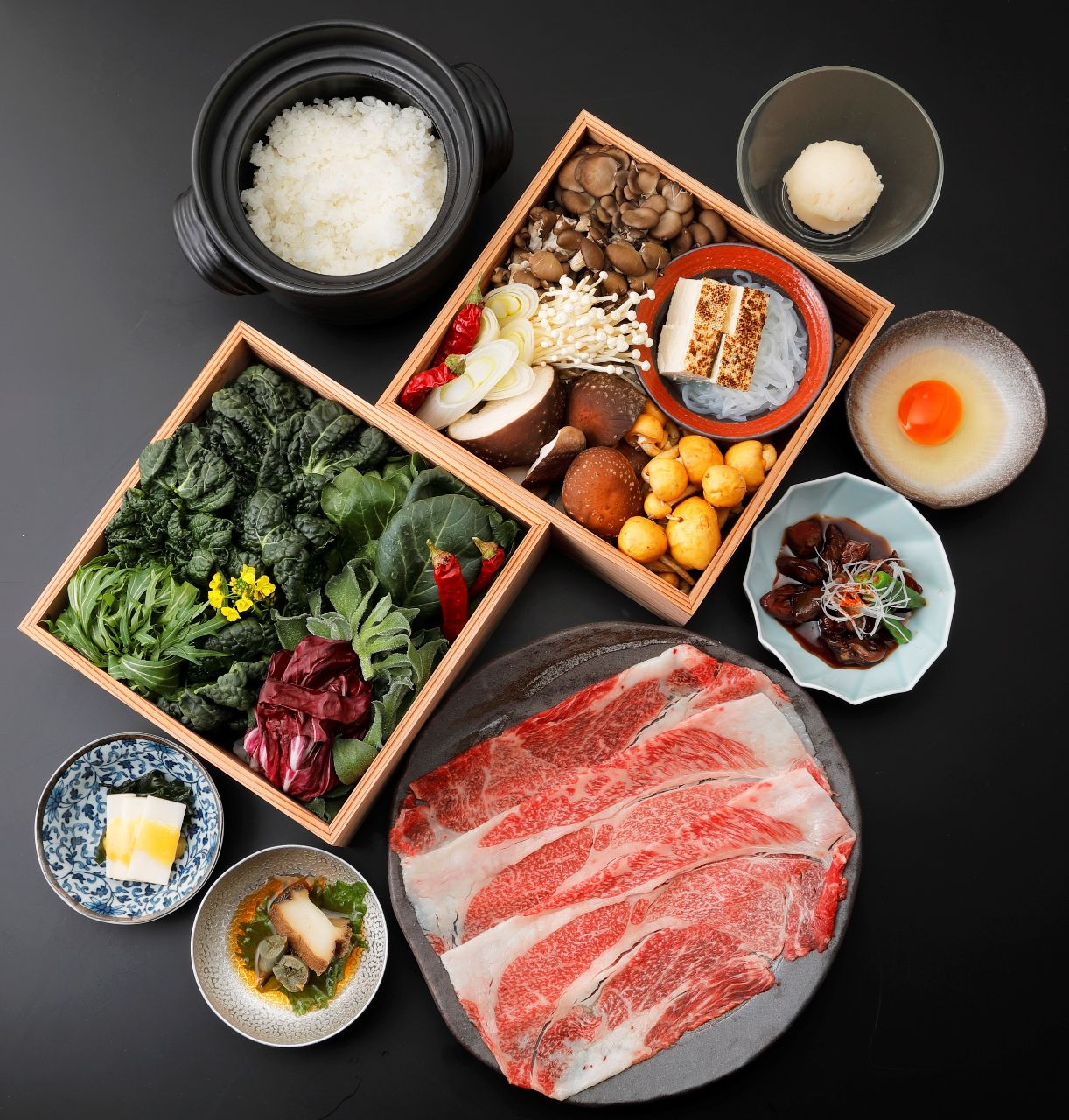 県産食材にこだわった自慢の料理