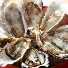 瀬戸内産の牡蠣を豪快に食す!