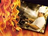 料理人は本場の中国で調理師の資格を取得したものです。