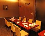 8~12名様まで入る個室、落ち着いた雰囲気が人気です。