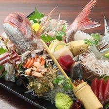 経験豊かな目利きが選ぶ旬の魚