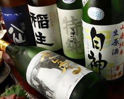 関東にはなかなか入ってこない 青森の地酒も取り揃えています♪