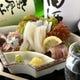青森県産イカ刺身 肝まで食べれる鮮度です。
