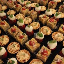 200名様までの大型パーティーに◎厳選食材を使用した人気料理が勢揃い『BUFFET PARTY PLAN』全7品