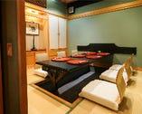 茶室風掘りごたつの個室(4~6名様用)