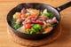 ホタルイカと春野菜のアヒージョ