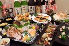 日本酒×北海道食材 地元家 青森店