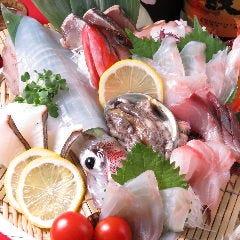 旬の魚と炙り焼き 月まる海 大橋店
