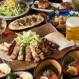 <鶏づくしコース> 鍋・焼鳥・揚物など鶏満喫コースあり◎