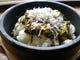 『ジャコと高菜の石焼きご飯』