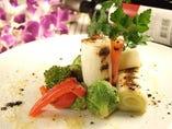 ●オーガニック野菜のグリル