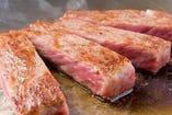 A5ランク 仙台牛のリブロースステーキ