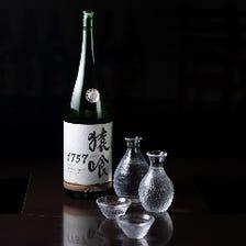 鮮魚や和食と合う地酒を多数ご用意