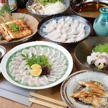 穴子専門店の渾身のコース料理
