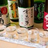 日本酒をあれこれ味わいたい方必見!地酒5種の飲み比べセット