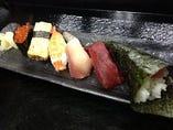 海や寿司ランチ(ミニサラダ・お椀・小鉢)