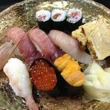 特選寿司ランチ(ミニサラダ・お椀・小鉢)