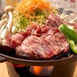 牛ほう葉焼ランチ(ごはん・お椀・香の物・小鉢)