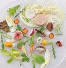 新鮮野菜がおいしい一皿に変身