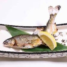 季節の食材で仕立てた逸品料理