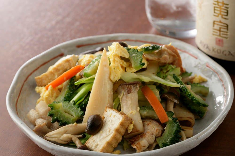 野菜たっぷり豆腐チャンプル!
