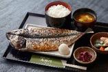 炭火焼き魚定食