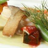 【コース】本日のお魚料理