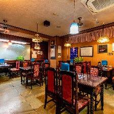 レトロな雰囲気漂う老舗の中華料理店
