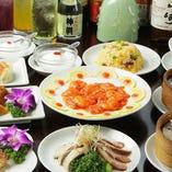 本格中華の宴会コースは、2H飲み放題付で2,500円(税込)〜