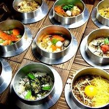◆約24種!旬の食材を生かした釜飯♪