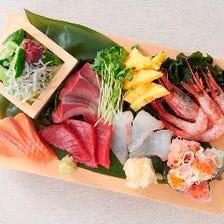 海鮮好きに堪らないメニューがズラリ