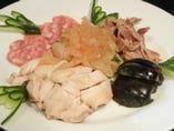 ■前菜五品盛合せ 前菜からボリュームがあり大変好評です。