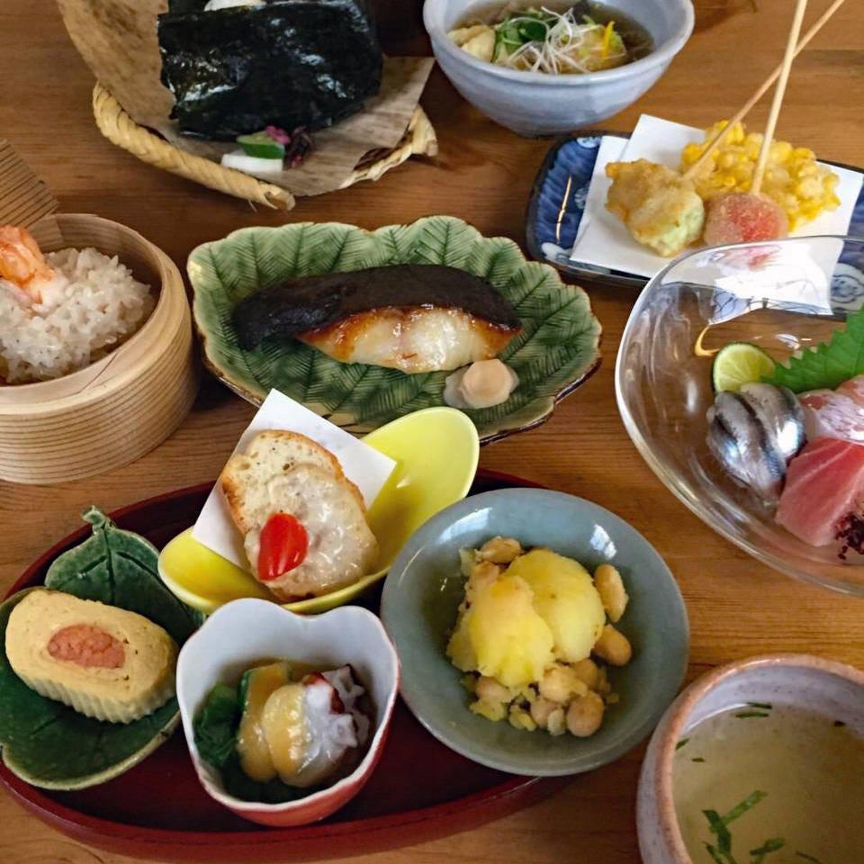 瀬戸内の新鮮な魚、農家直送のこだわりの野菜を使用した おまかせコース 3,500円~