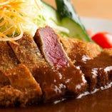国産 牛フィレ肉のカツレツ 自家製デミグラスソース