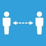 【感染症対策/その5】 ソーシャルディスタンスを保つ店内レイアウトに変更しております