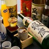 約40種飲み放題 名物「ひれ酒」OK!